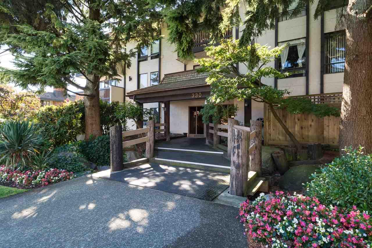 "Main Photo: 108 330 CEDAR Street in New Westminster: Sapperton Condo for sale in ""Crestwood Cedars"" : MLS®# R2169425"