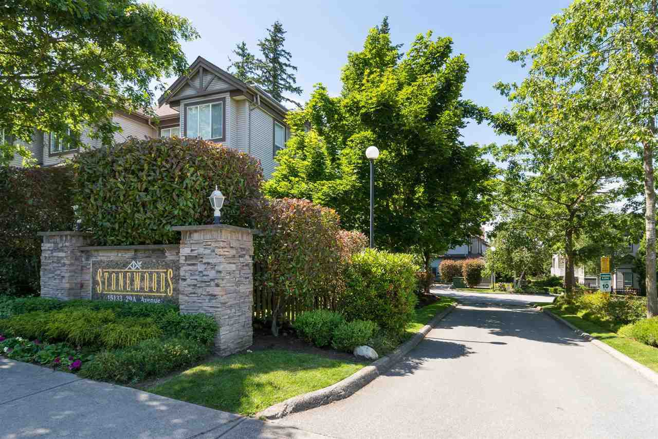 "Main Photo: 12 15133 29A Avenue in Surrey: King George Corridor Townhouse for sale in ""Stonewoods"" (South Surrey White Rock)  : MLS®# R2175927"