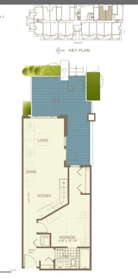 Main Photo: 305 10688 140 Street in Surrey: Whalley Condo for sale (North Surrey)  : MLS®# R2225725