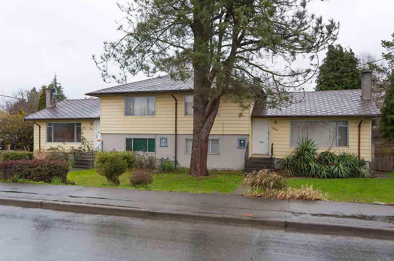 Main Photo: 8440 - 8460 NO 3 Road in Richmond: Garden City House Duplex for sale : MLS®# R2235781
