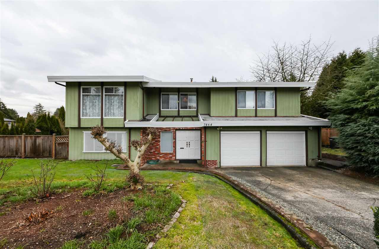 Main Photo: 7464 ALDOUS Court in Burnaby: Government Road House for sale (Burnaby North)  : MLS®# R2236421