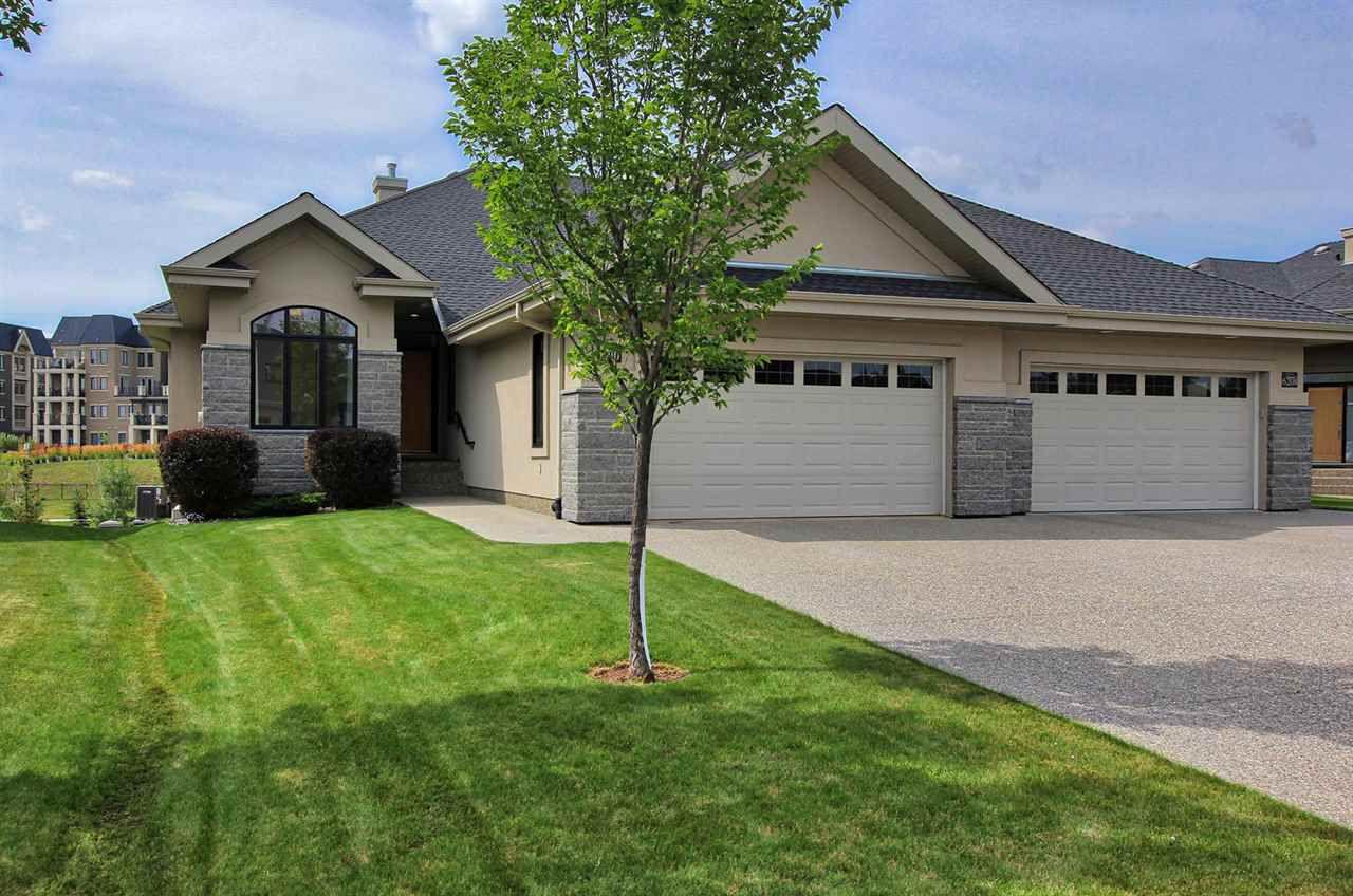 Main Photo: 6210 MAYNARD Point in Edmonton: Zone 14 House Half Duplex for sale : MLS®# E4156620