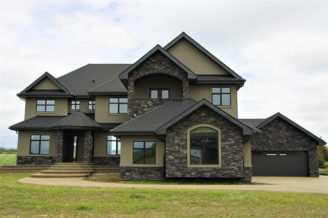 Main Photo: 208 Riverview Way: Rural Sturgeon County House for sale : MLS®# E4165557