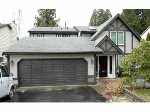 Main Photo: 1704 HEATHER Place in Port Moody: Mountain Meadows House for sale : MLS®# V877739