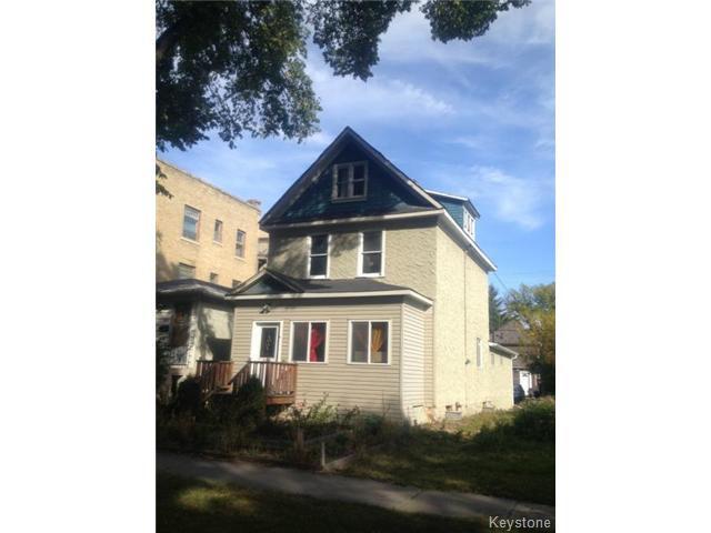 Main Photo: 371 Home Street in WINNIPEG: West End / Wolseley Residential for sale (West Winnipeg)  : MLS®# 1321837