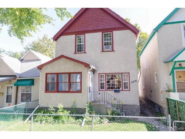 Main Photo: 489 Victor Street in WINNIPEG: West End / Wolseley Residential for sale (West Winnipeg)  : MLS®# 1423579