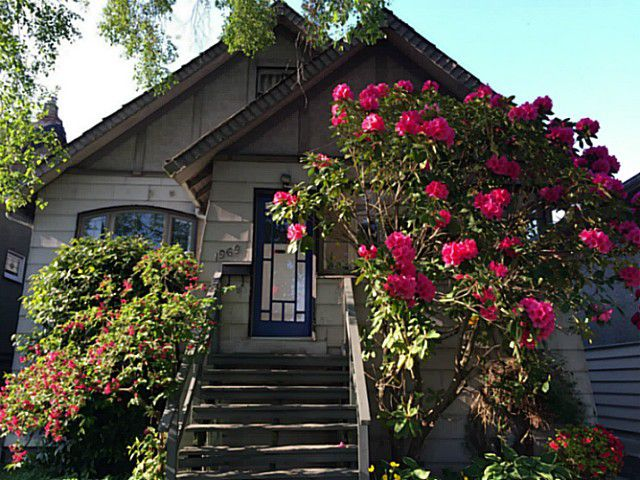 Main Photo: 1969 E 8TH Avenue in Vancouver: Grandview VE House for sale (Vancouver East)  : MLS®# V1130706