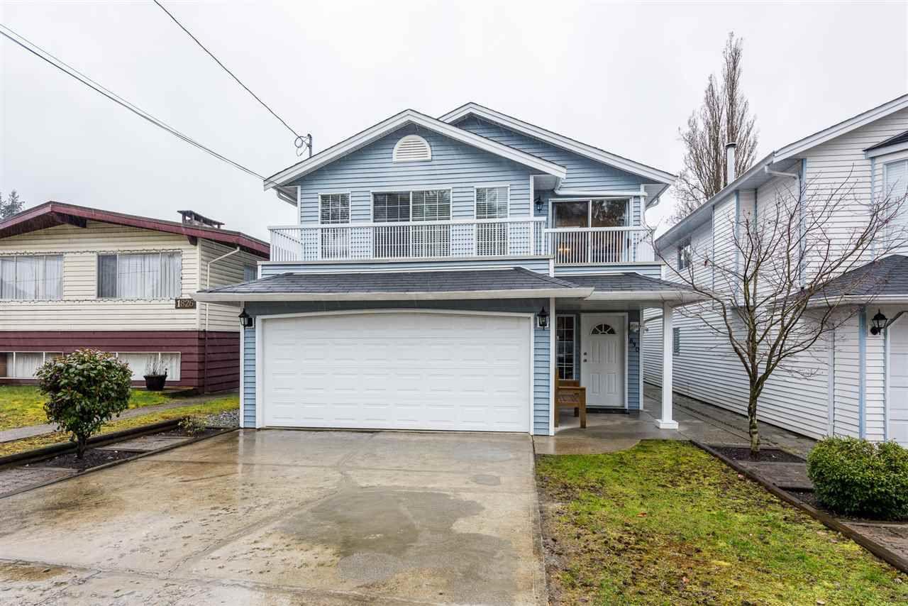 Main Photo: 1830 SALISBURY Avenue in Port Coquitlam: Glenwood PQ House for sale : MLS®# R2251145