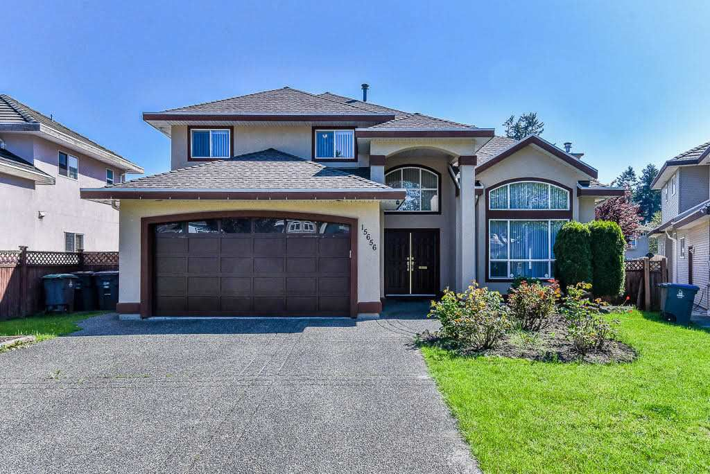 Main Photo: 15656 83A Avenue in Surrey: Fleetwood Tynehead House for sale : MLS®# R2267789