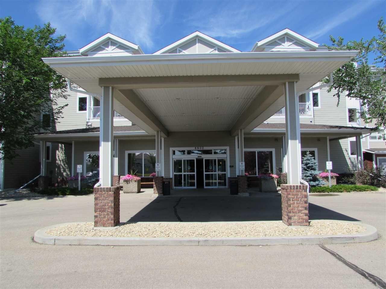 Main Photo: 320 8802 Southfort Drive: Fort Saskatchewan Condo for sale : MLS®# E4126265