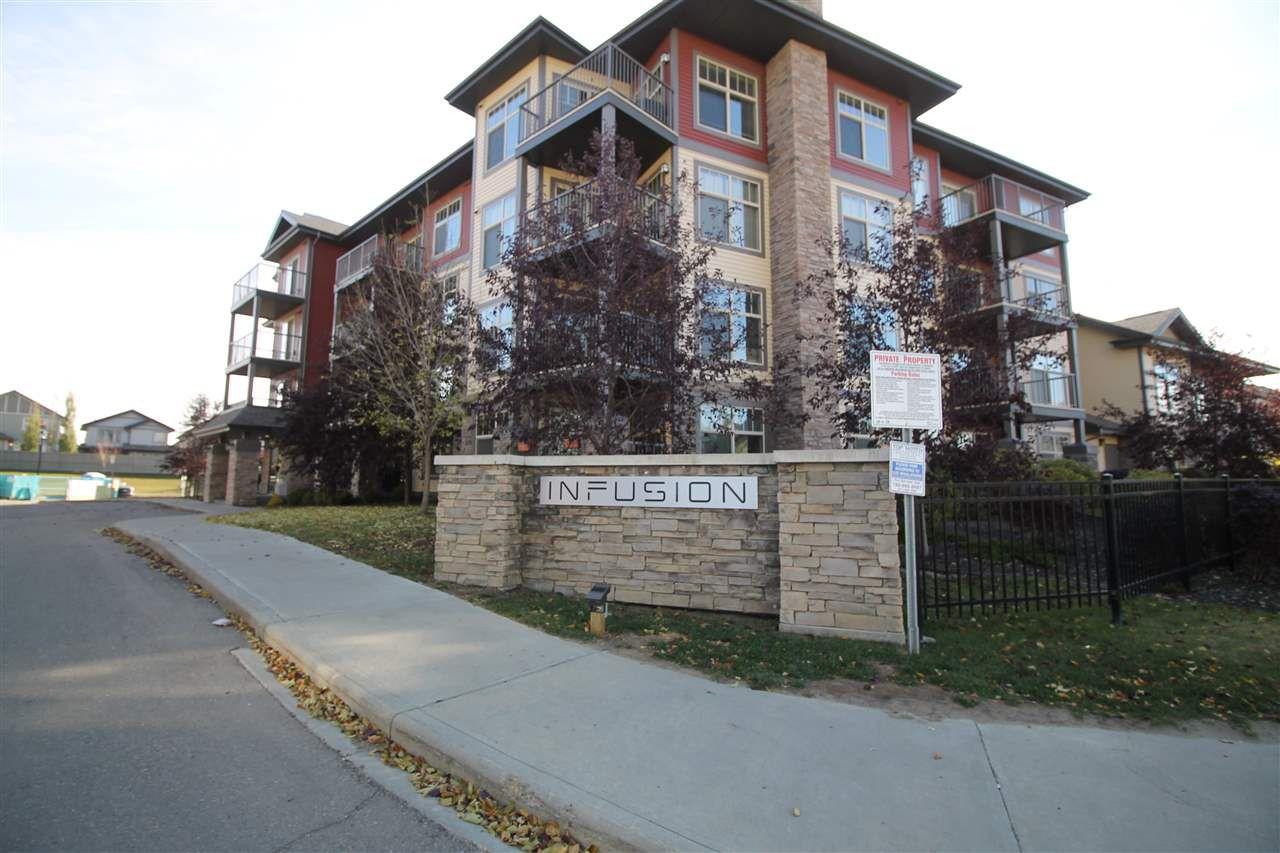 Main Photo: 204 103 AMBLESIDE Drive in Edmonton: Zone 56 Condo for sale : MLS®# E4146116