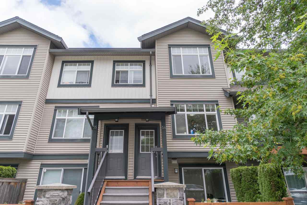 Main Photo: 54 16233 83 Avenue in Surrey: Fleetwood Tynehead Townhouse for sale : MLS®# R2353461