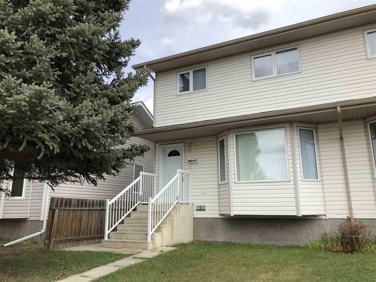 Main Photo: B 4015 53 Street: Wetaskiwin House Half Duplex for sale : MLS®# E4150614