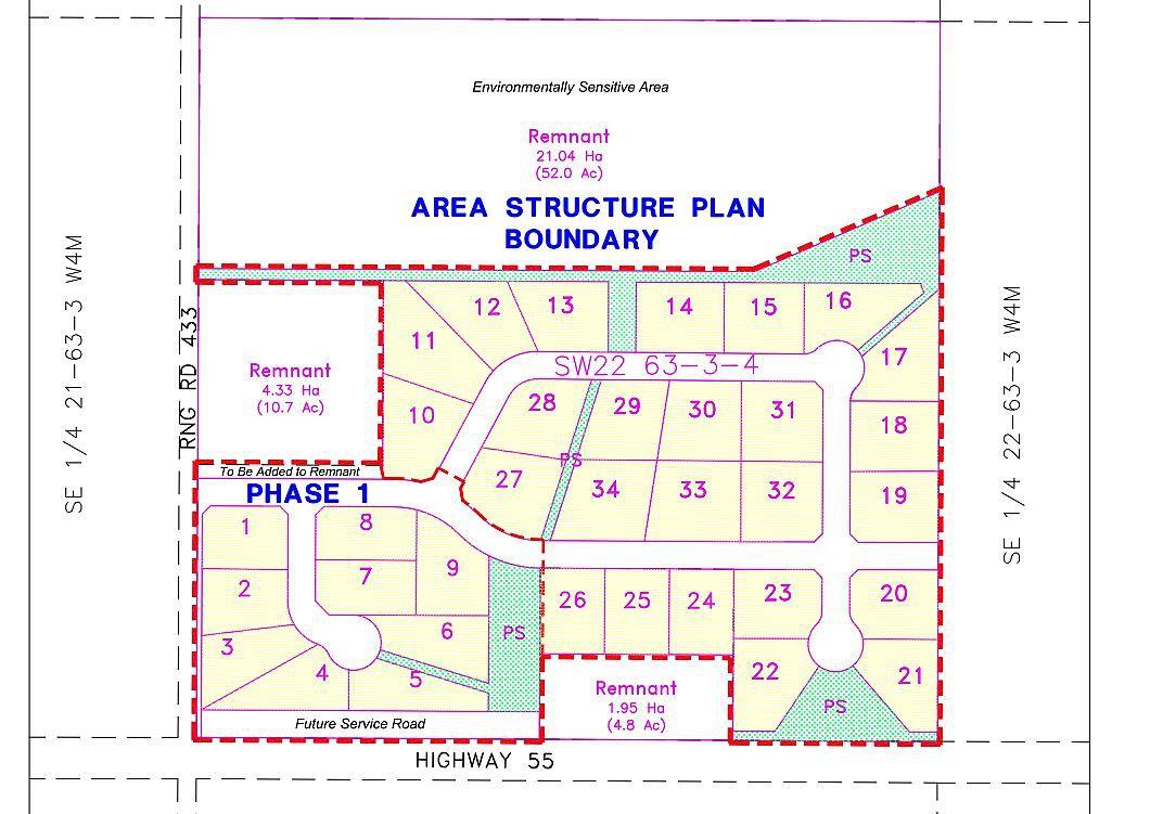 Main Photo: 12 Rge Rd 433: Rural Bonnyville M.D. Rural Land/Vacant Lot for sale : MLS®# E4064933