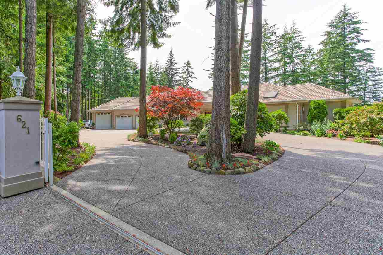 """Main Photo: 621 194 Street in Surrey: Hazelmere House for sale in """"HAZELMERE VALLEY"""" (South Surrey White Rock)  : MLS®# R2170440"""