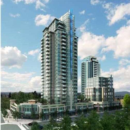 """Main Photo: 1703 3008 GLEN Drive in Coquitlam: North Coquitlam Condo for sale in """"M2"""" : MLS®# R2240458"""