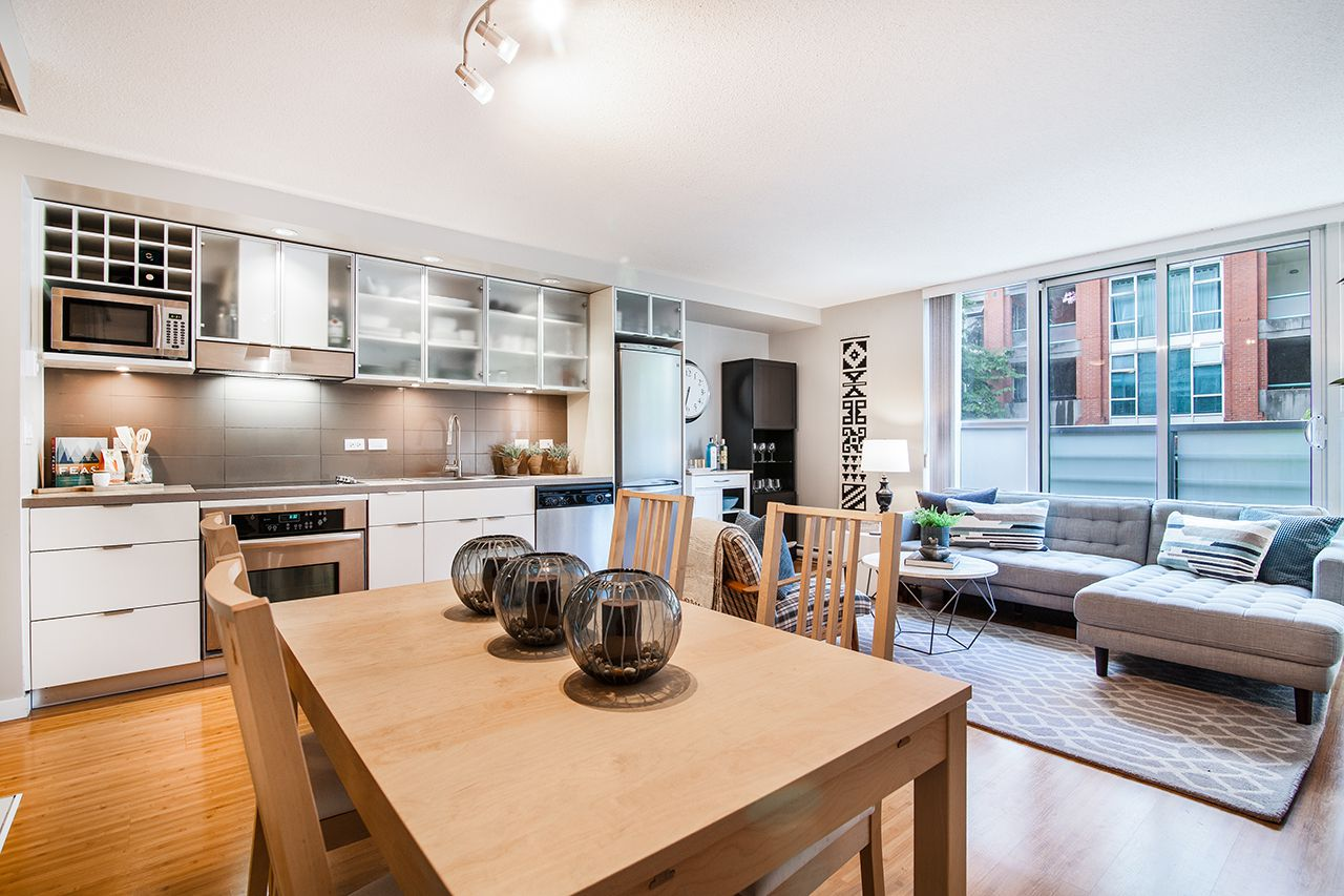 "Main Photo: 210 168 POWELL Street in Vancouver: Downtown VE Condo for sale in ""SMART GASTOWN"" (Vancouver East)  : MLS®# R2274454"