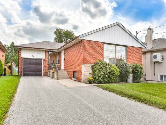 Main Photo: 83 Tavistock Road in Toronto: Downsview-Roding-CFB House (Bungalow-Raised) for sale (Toronto W05)  : MLS®# W4242264