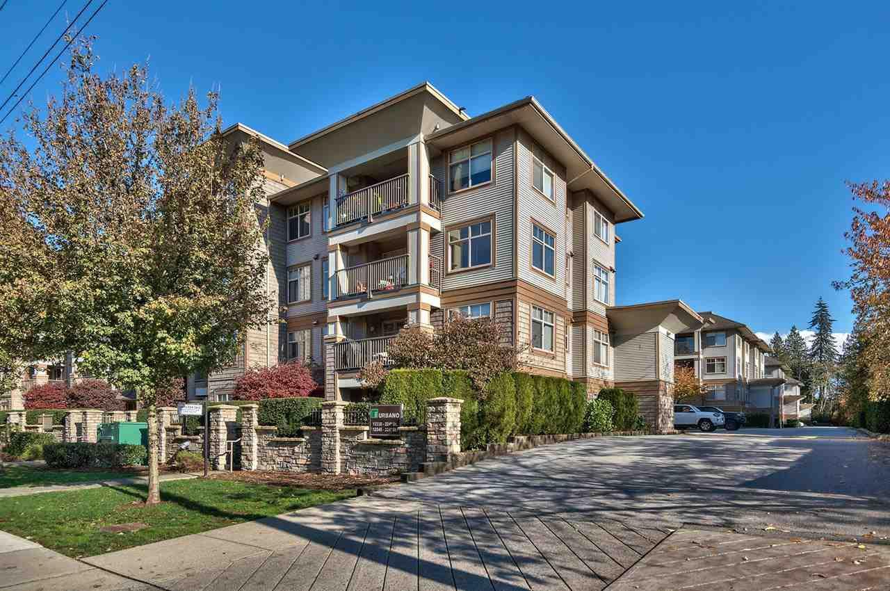 "Main Photo: 111 12238 224 Street in Maple Ridge: East Central Condo for sale in ""URBANO"" : MLS®# R2322183"