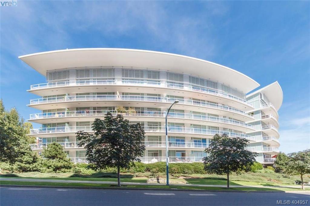 Main Photo: 306 68 Songhees Road in VICTORIA: VW Songhees Condo Apartment for sale (Victoria West)  : MLS®# 404957