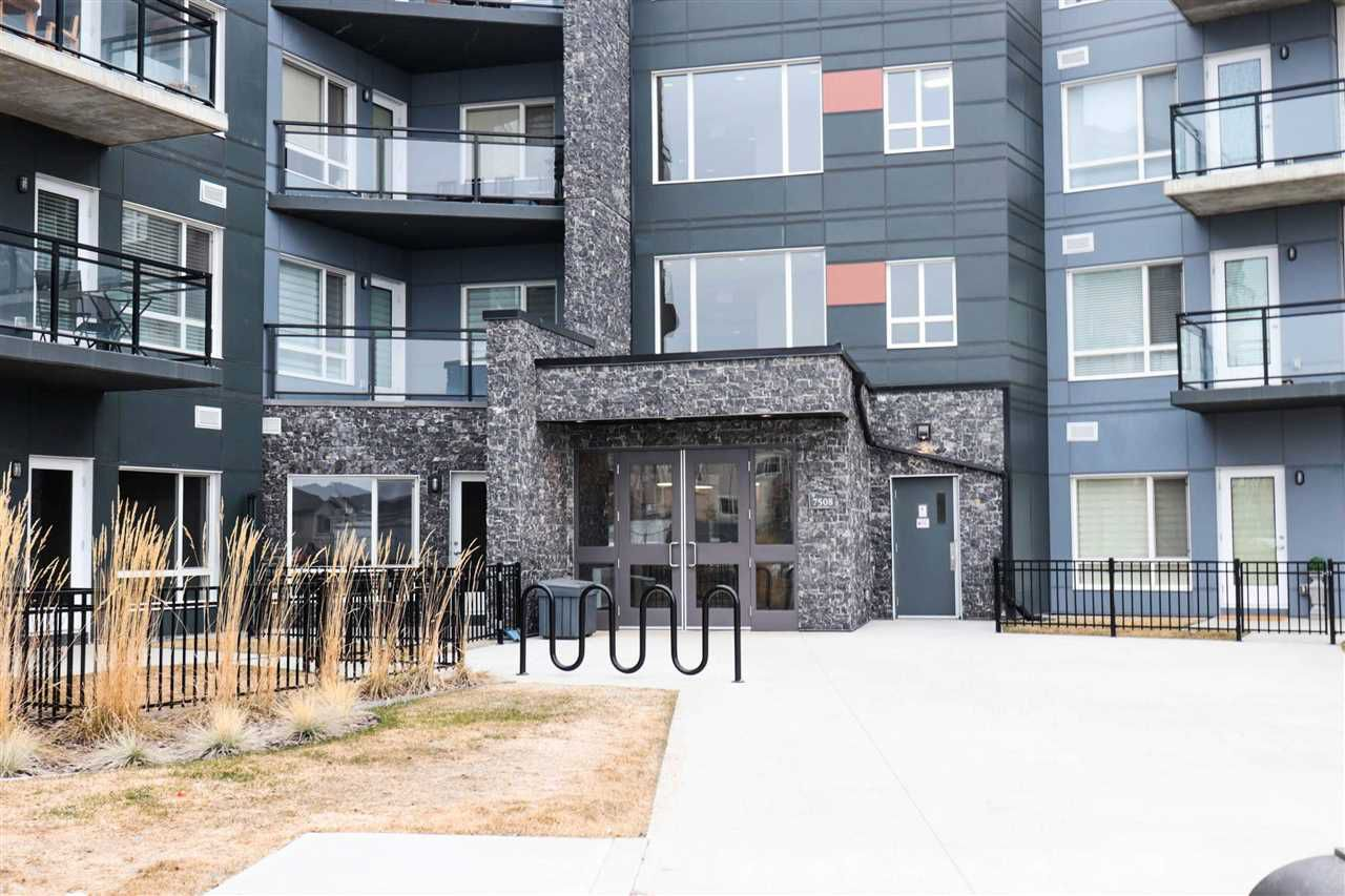 Main Photo: 410 7508 GETTY Gate in Edmonton: Zone 58 Condo for sale : MLS®# E4151319