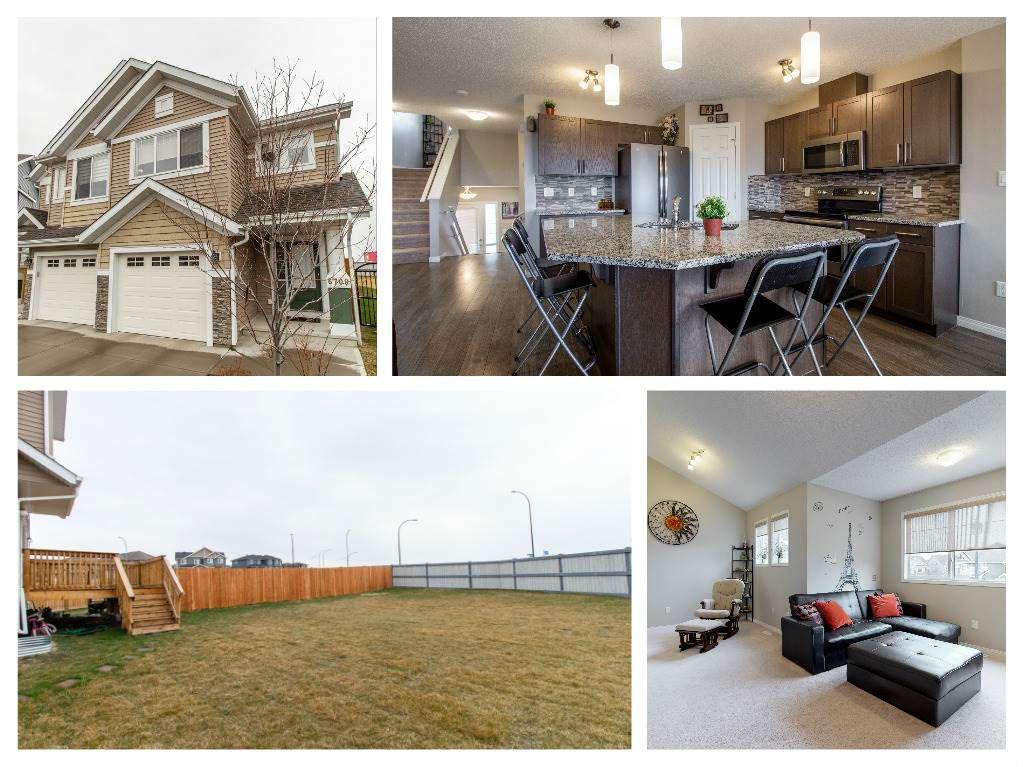 Main Photo: 6709 24 Avenue in Edmonton: Zone 53 House Half Duplex for sale : MLS®# E4154434