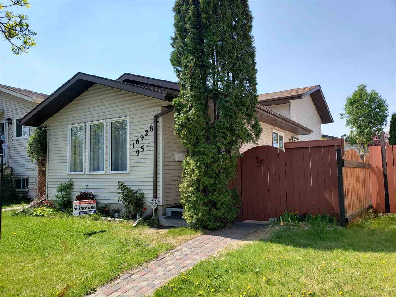 Main Photo: 16928 95 Street in Edmonton: Zone 28 House for sale : MLS®# E4158500
