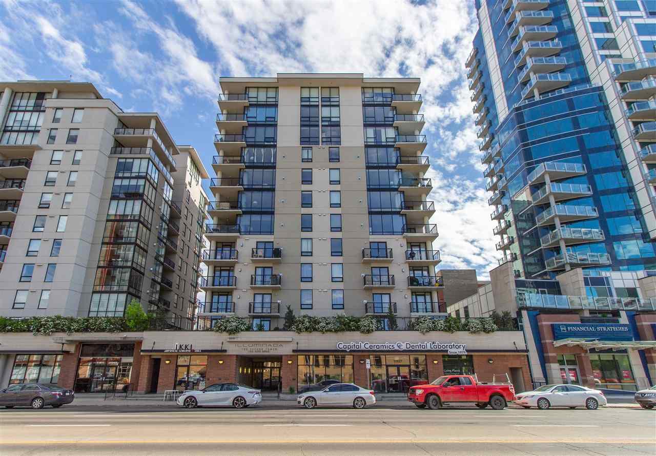 Main Photo: 206 11933 JASPER Avenue in Edmonton: Zone 12 Condo for sale : MLS®# E4160657