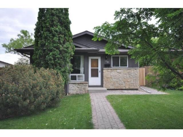 Main Photo: 70 Lamirande Place in WINNIPEG: Fort Garry / Whyte Ridge / St Norbert Residential for sale (South Winnipeg)  : MLS®# 1112428