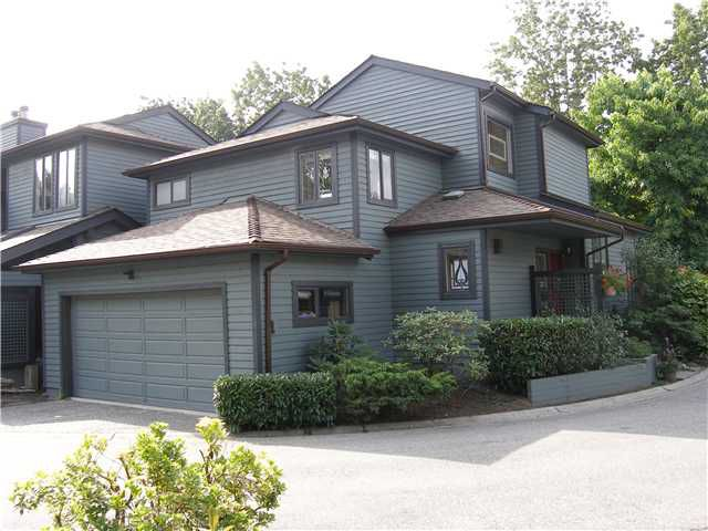 Main Photo: 1977 CEDAR VILLAGE Crescent in North Vancouver: Westlynn Townhouse for sale : MLS®# V911035