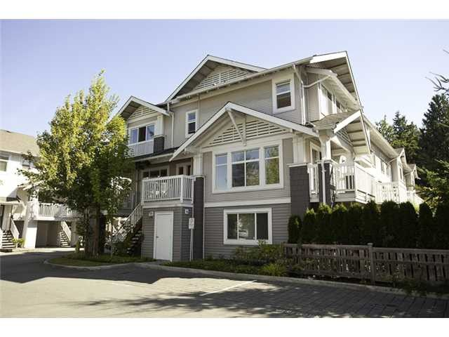 Main Photo: 38 7533 Heather Street Street in Richmond: McLennan North Townhouse for sale : MLS®# V1008609
