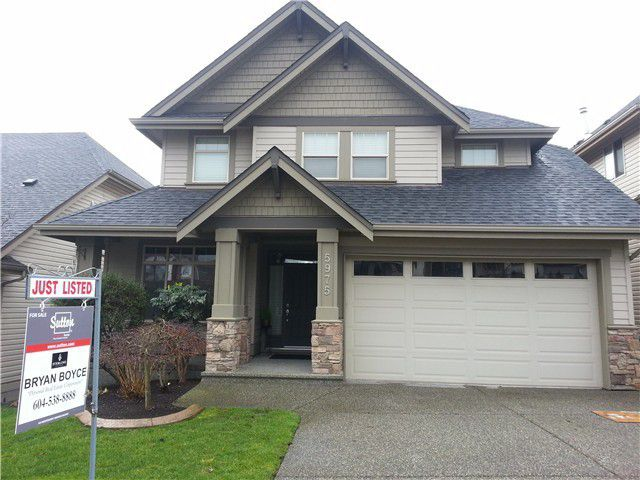 "Main Photo: 5975 164 Street in Surrey: Cloverdale BC House for sale in ""Westridge Estates"" (Cloverdale)  : MLS®# F1410470"