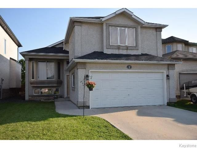 Main Photo: 7 Grady Bend Place in WINNIPEG: West Kildonan / Garden City Residential for sale (North West Winnipeg)  : MLS®# 1517840