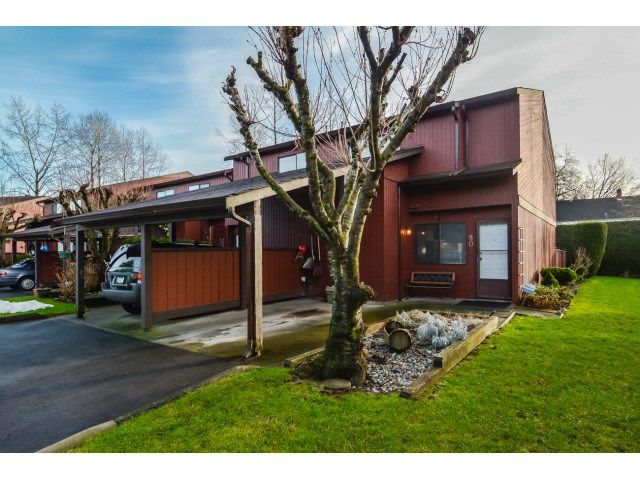 """Main Photo: 80 27044 32 Avenue in Langley: Aldergrove Langley Townhouse for sale in """"Bertrand"""" : MLS®# R2077159"""