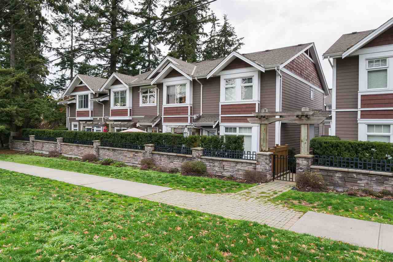 """Main Photo: 29 2689 PARKWAY Drive in Surrey: King George Corridor Townhouse for sale in """"Allure"""" (South Surrey White Rock)  : MLS®# R2121592"""