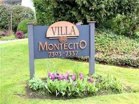 Main Photo: 6 7325 MONTECITO DRIVE in : Montecito Townhouse for sale : MLS®# R2006248