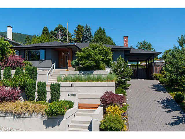 Main Photo: 4366 CANTERBURY CRESCENT in : Forest Hills NV House for sale (North Vancouver)  : MLS®# V1132532