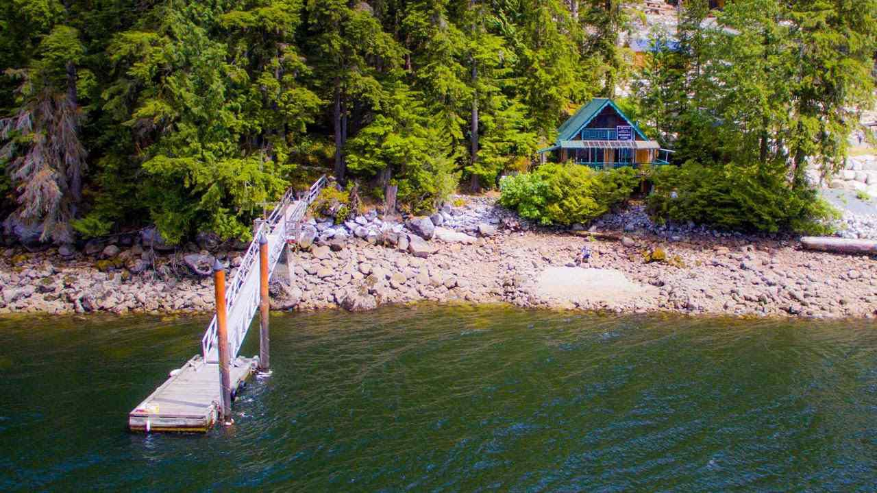 "Main Photo: 15 E OF CROKER ISLAND in North Vancouver: Indian Arm House for sale in ""HELGA BAY"" : MLS®# R2280683"