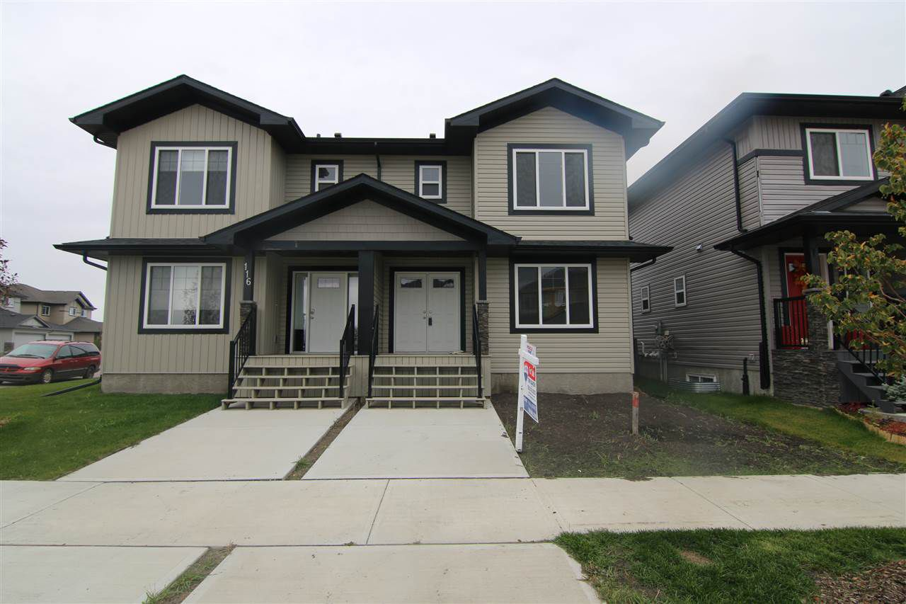 Main Photo: 114 RICHMOND Link: Fort Saskatchewan House Half Duplex for sale : MLS®# E4131525