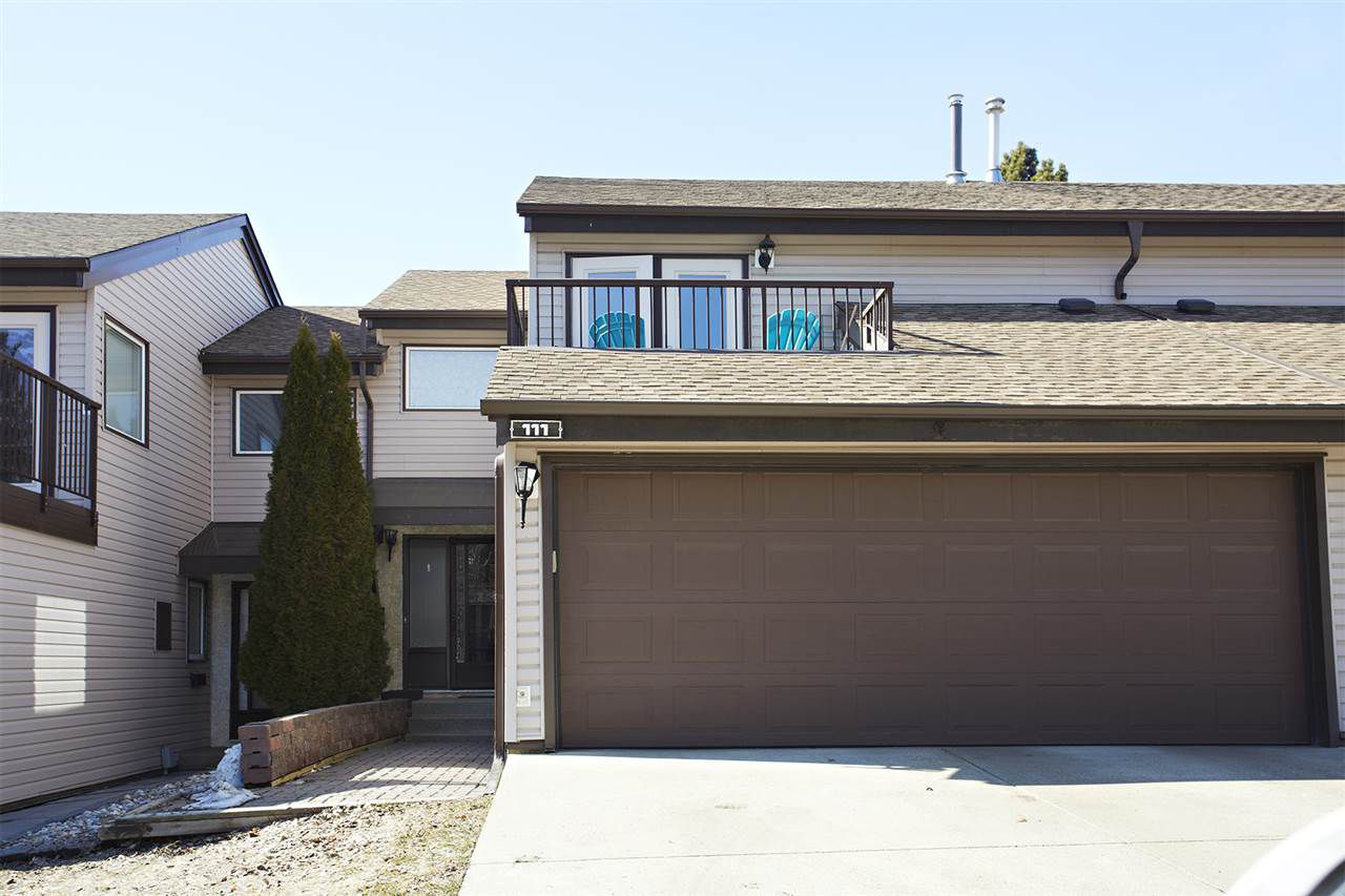 Main Photo: 111 GRANDIN Wood: St. Albert Townhouse for sale : MLS®# E4160897