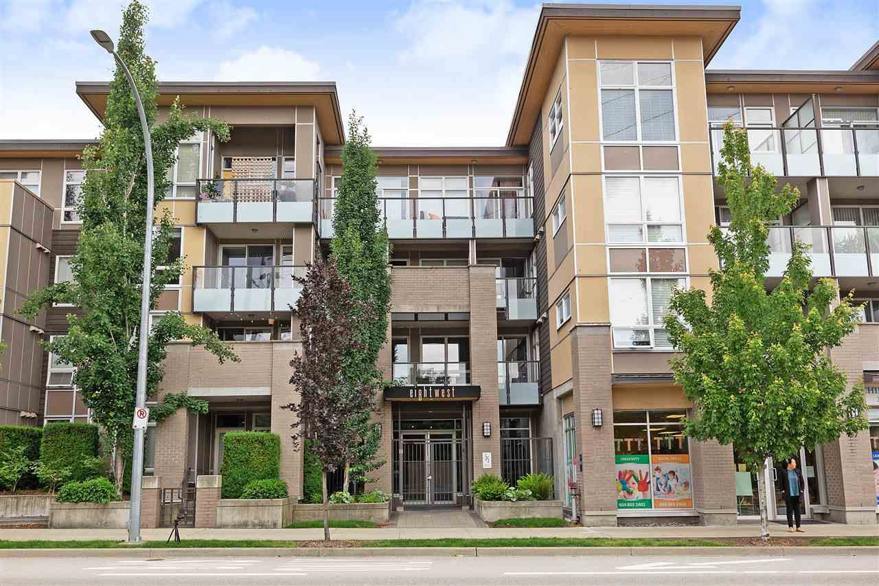 Main Photo: 309 55 EIGHTH Avenue in New Westminster: GlenBrooke North Condo for sale : MLS®# R2378357