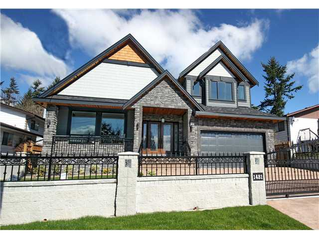 "Main Photo: 1431 KING ALBERT Avenue in Coquitlam: Central Coquitlam House for sale in ""Central Coquitlam"" : MLS®# V1054380"