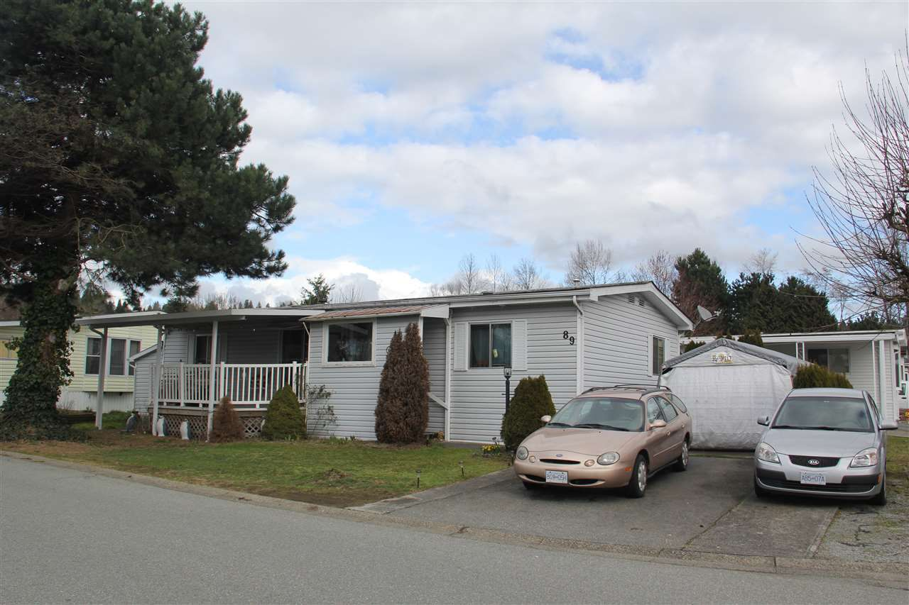 """Main Photo: 89 145 KING EDWARD Street in Belcarra: Coquitlam East Manufactured Home for sale in """"MILL CREEK VILLAGE"""" (Coquitlam)  : MLS®# R2040200"""