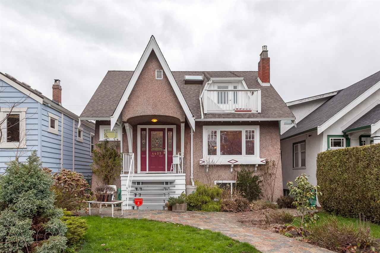 Main Photo: 4405 W 9TH Avenue in Vancouver: Point Grey House for sale (Vancouver West)  : MLS®# R2155710