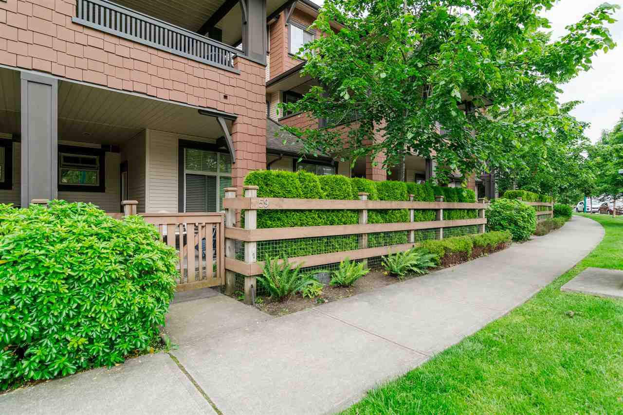 """Main Photo: 59 19478 65 Avenue in Surrey: Clayton Condo for sale in """"SUNSET GROVE"""" (Cloverdale)  : MLS®# R2181990"""