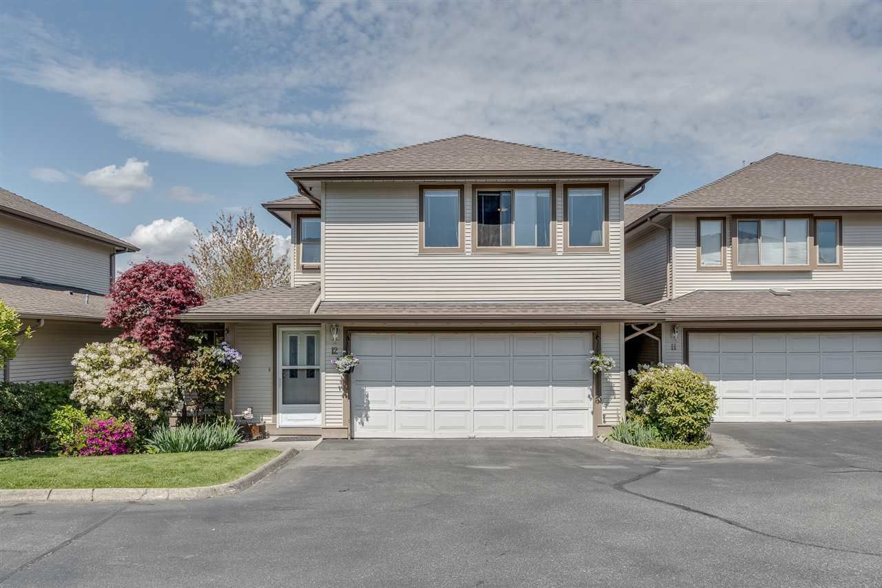 "Photo 1: Photos: 12 22280 124TH Street in Maple Ridge: West Central Townhouse for sale in ""Hillside Terrace"" : MLS®# R2365433"