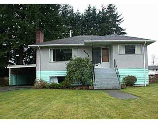 Main Photo: 2474 ATKINS AV in Port_Coquitlam: Central Pt Coquitlam House for sale (Port Coquitlam)  : MLS®# V326818