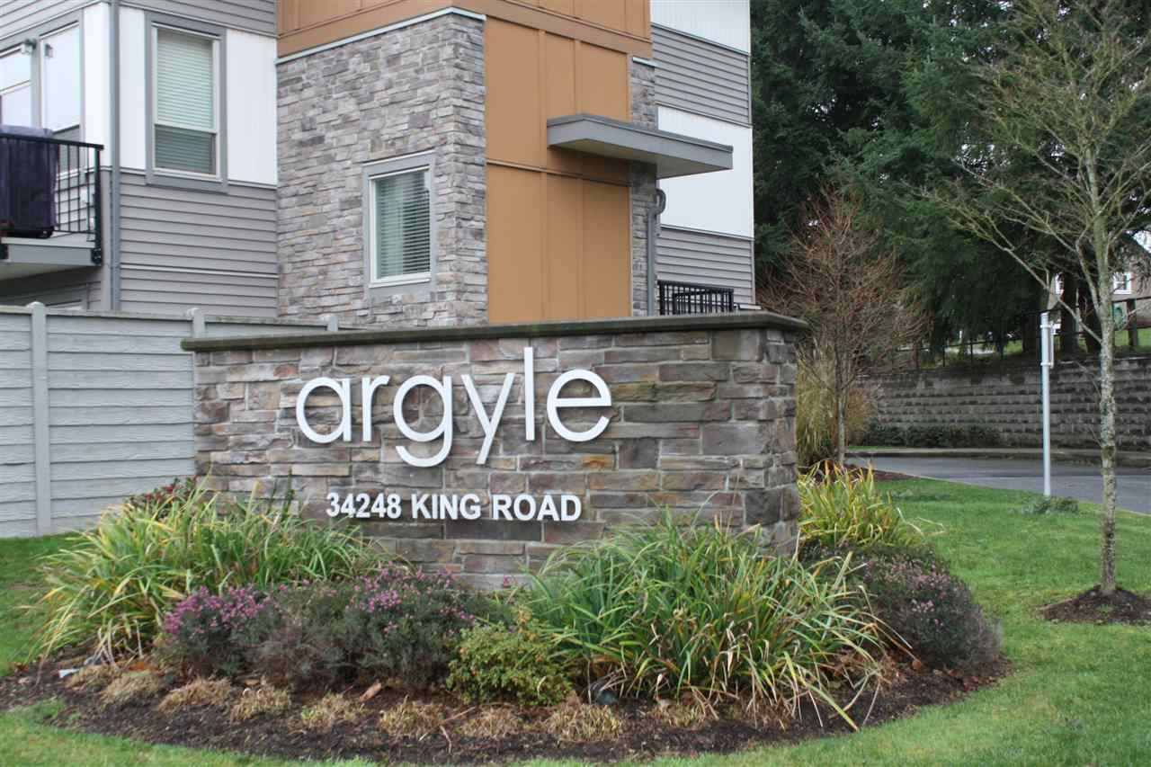 "Main Photo: 48 34248 KING Road in Abbotsford: Abbotsford East Townhouse for sale in ""THE ARGYLE"" : MLS®# R2020713"