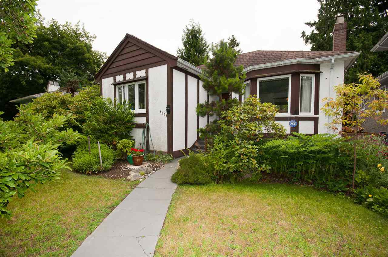 Main Photo: 3508 W 30TH Avenue in Vancouver: Dunbar House for sale (Vancouver West)  : MLS®# R2061373