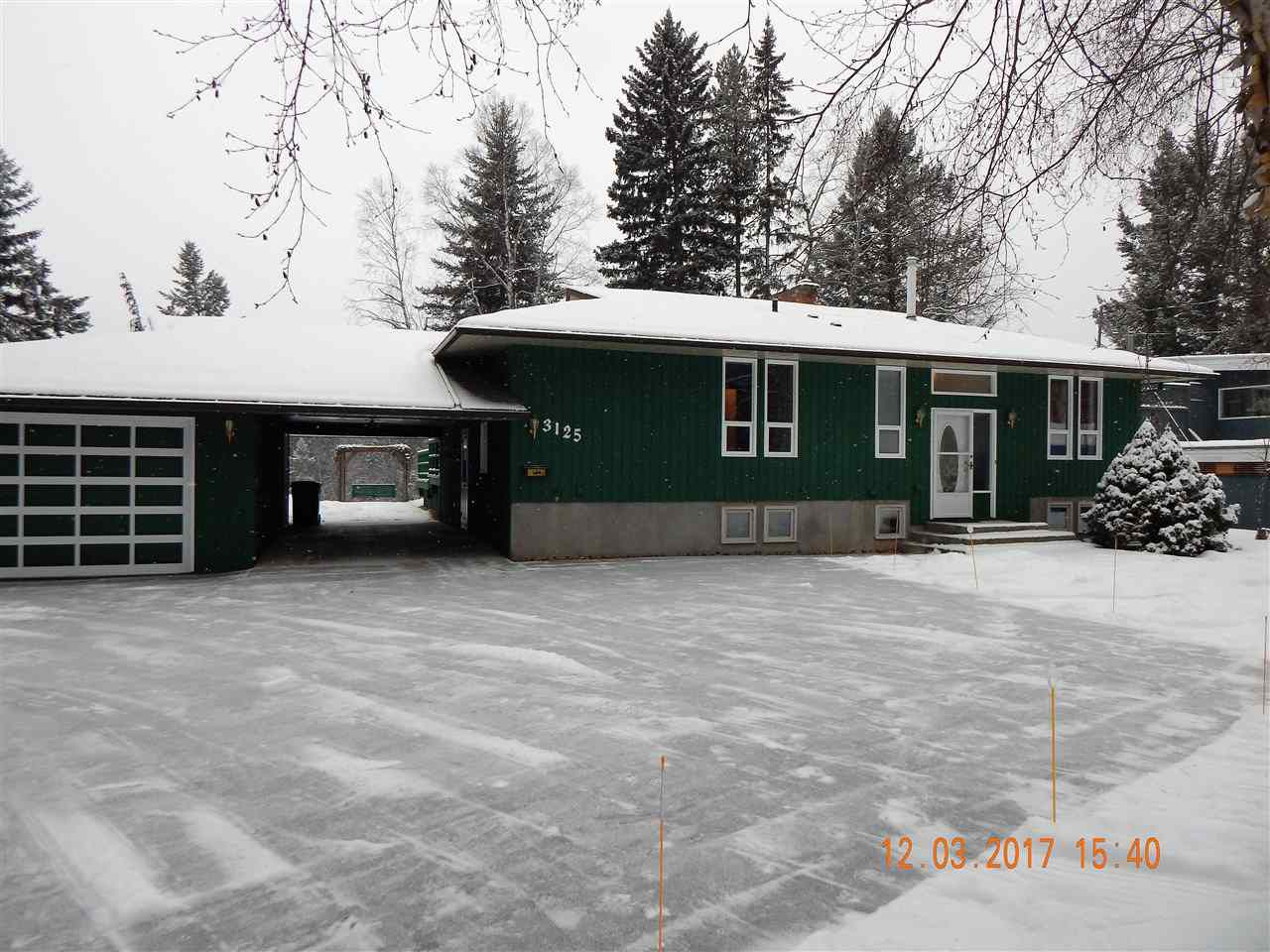 """Main Photo: 3125 RIVERVIEW Road in Prince George: Nechako Bench House for sale in """"NECHAKO BENCH"""" (PG City North (Zone 73))  : MLS®# R2138180"""